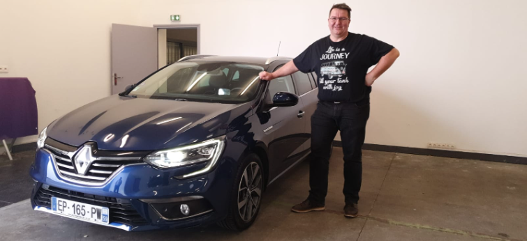Renault Megane Via automobile
